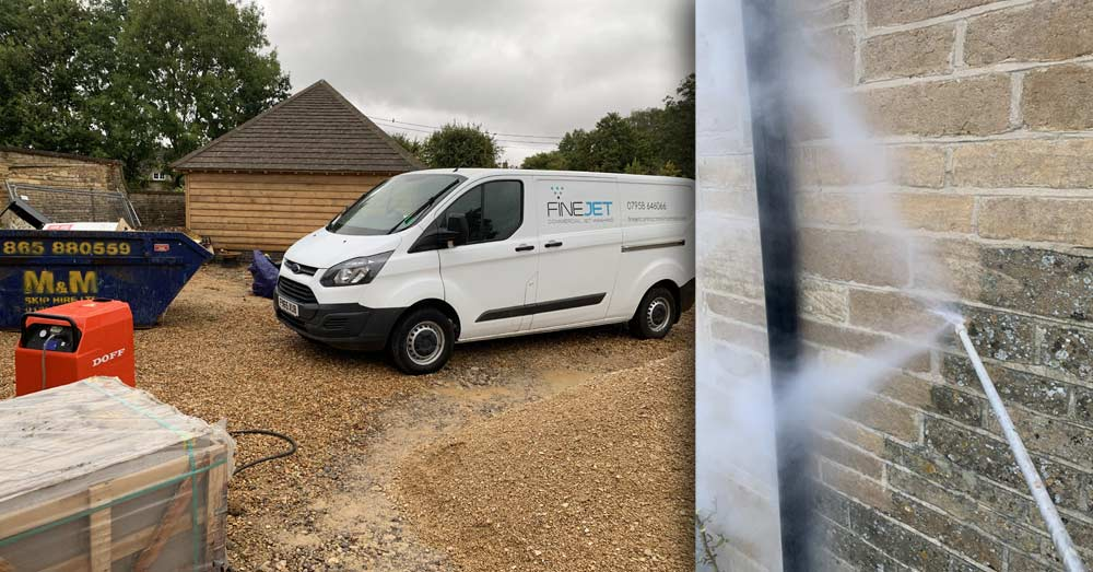 Finejet can now offer advanced high-temperature stonework and masonary cleaning with our new, state-of-the-art DOFF cleaning system