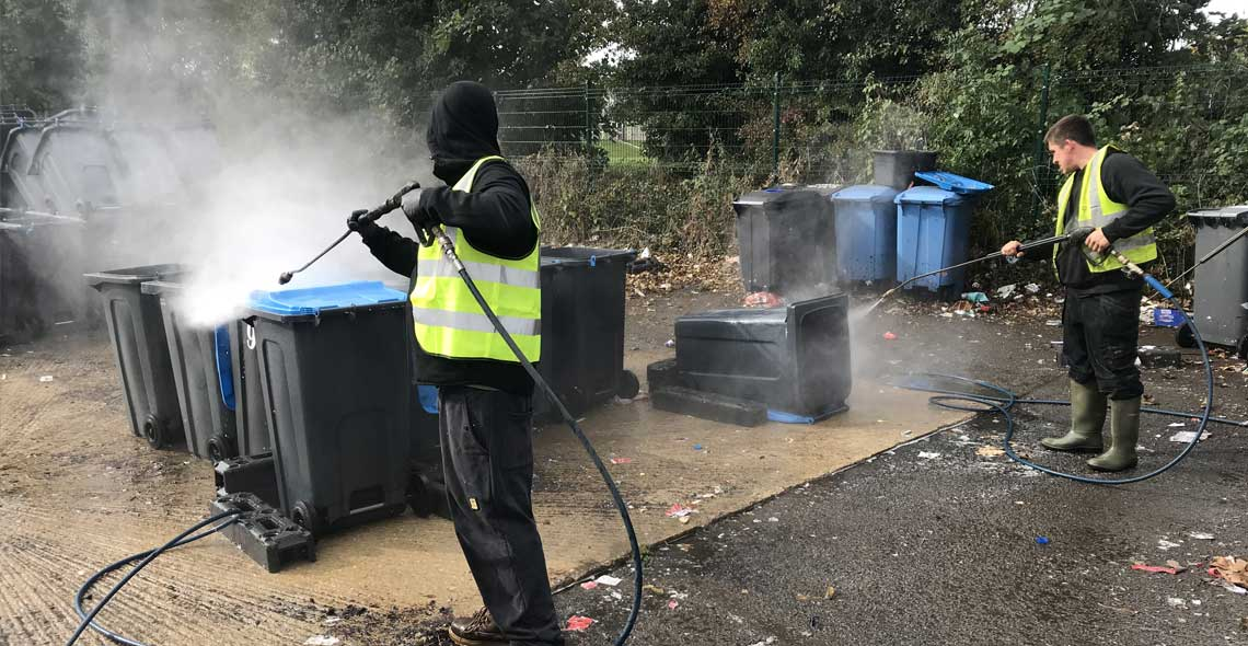 FineJet is fully certified, accredited and insured for any type of jet washing project
